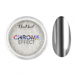 Chrome Effect uñas...