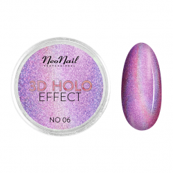 3D Holo Effect color Rosa 2gr